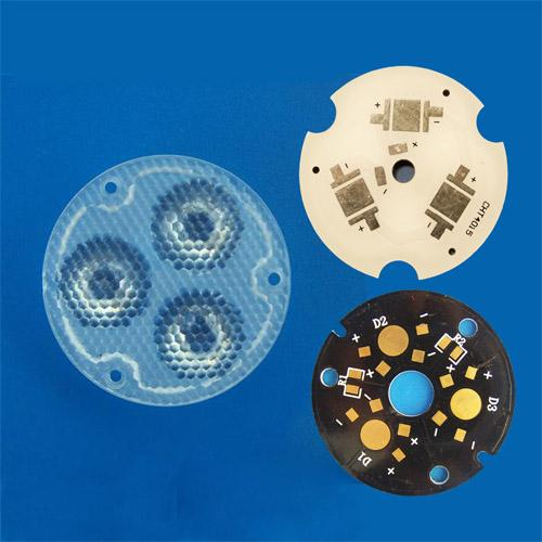 PCB for 3in1 LED lens(HX-78-PCB)